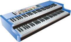 Illustration of a keyboard