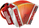 illustration of an accordion