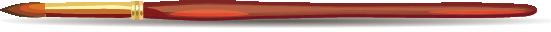 Illustration of a paintbrush