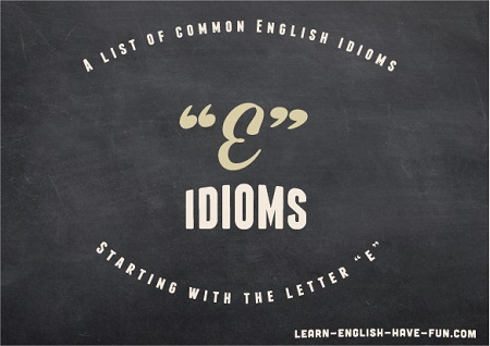 Tons Of Examples Of Idioms