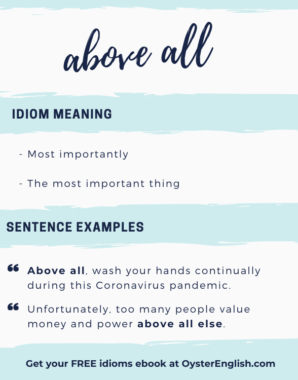 Definition and examples off Idiom