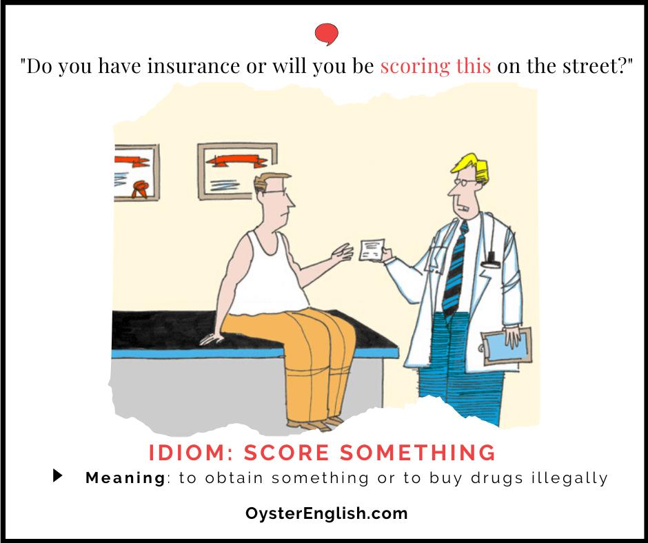 Comic of a doctor handing a prescription to a patient. Caption: