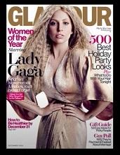 Lady Gaga on Glamour magazine's cover