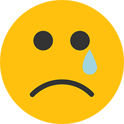 Sad emoji