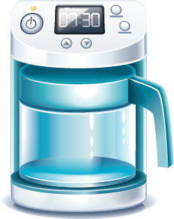 illustration of a coffeemaker