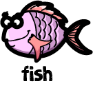 illustration of a cartoon fish