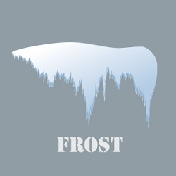 Illustration of icy frost