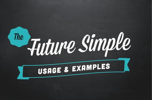 Text ribbon: Future simple