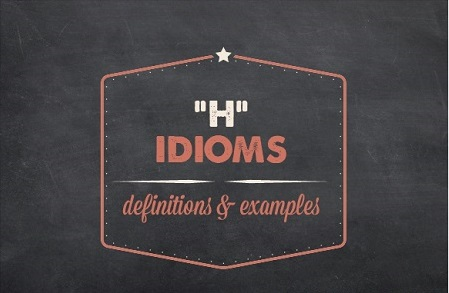 American Idioms List Examples