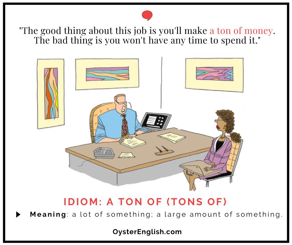 Cartoon for idiom
