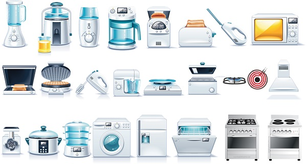 Kitchen appliances vocabulary for Kitchen appliances list