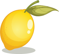 Illustration of a lemon