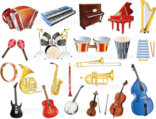 Musical Instruments Vocaulary