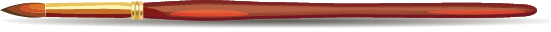 Illustration of a paintbrush
