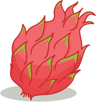 Illustration of a passionfruit
