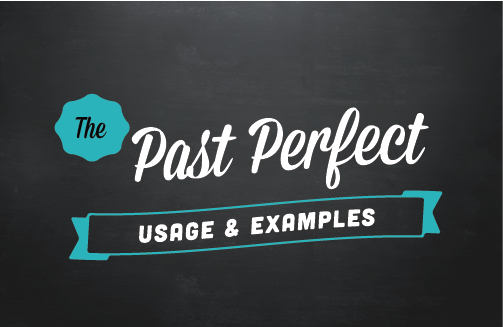Text ribbon: The past perfect (usage & examples)