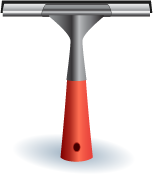 Illustration of a squeegee