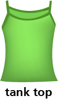 illustration of a tank top