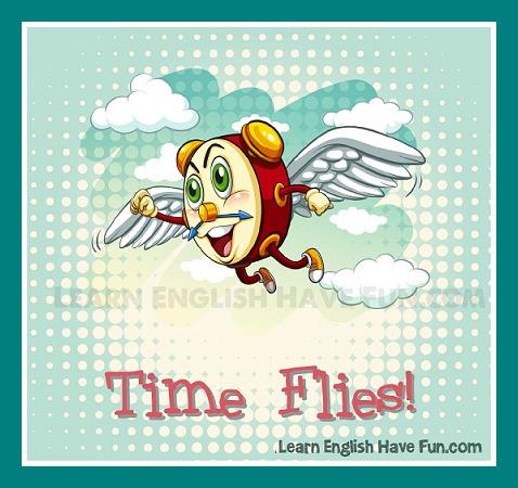 Time Flies Idiom