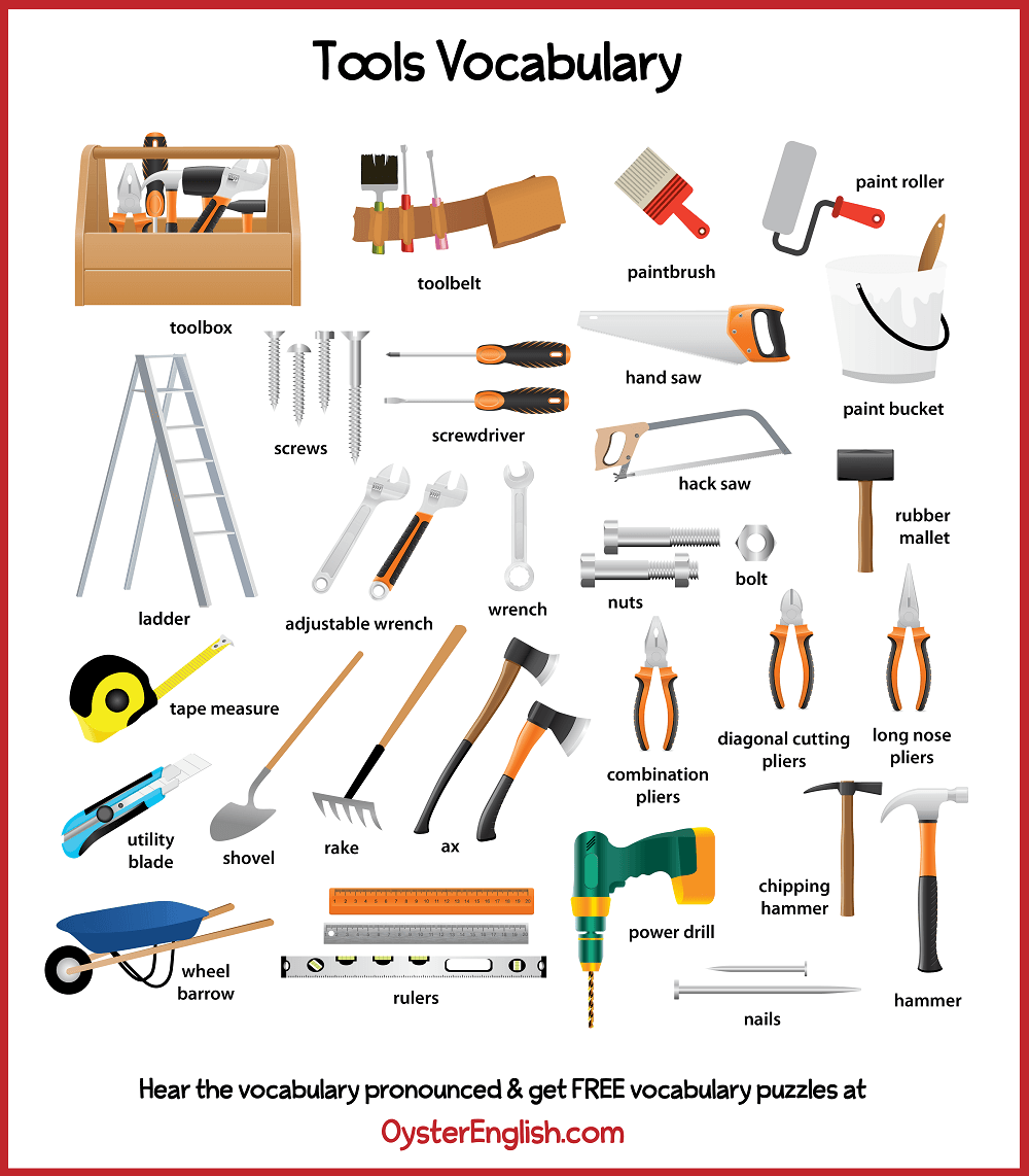 Picture collage of all the tools on this webpage.