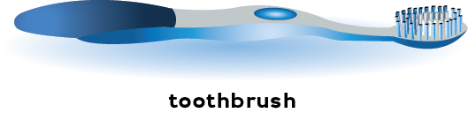 illustration of a toothbrush