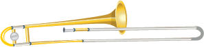 Illustration of a trombone