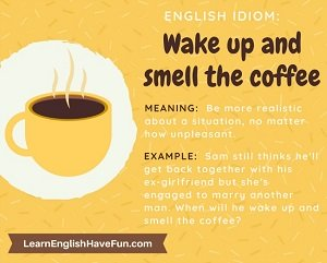 Thumbnail image: Wake up and smell the coffee